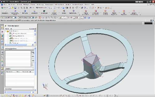 10.4 lenkrad siemens nx 8 training