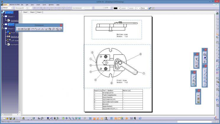 Videotutorial Catia V5 Drafting Bend Annotations