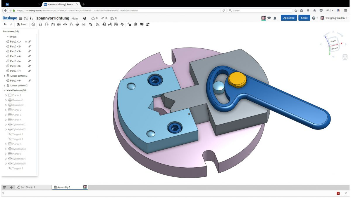 Onshape Video Tutorials Second One An Assembly