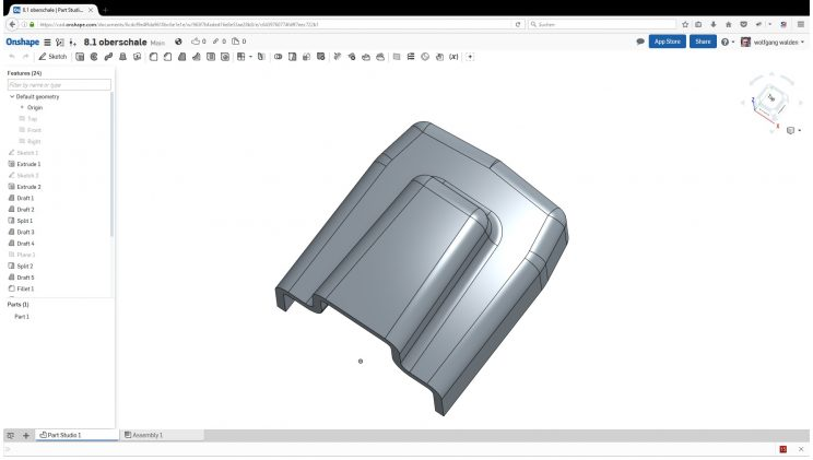 Onshape – video tutorials – second one – an assembly