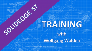 SolidEdge ST X – advanced surface training – wolfgang walden´s IT