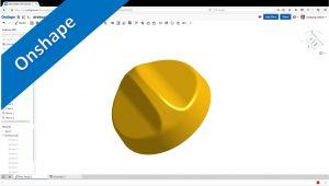 Videotutorial Onshape Surface Training Drehschalter