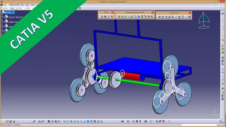 Videotutorial Catia V5 Assembly Tetrastar Advanced