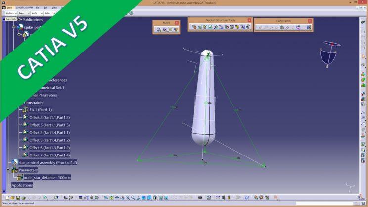 Videotutorial – catia v5 – assembly – Tetrastar advanced ...