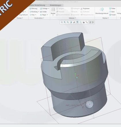 Videotutorial Creo Parametric Part Design Housing
