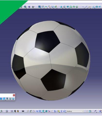 Videotutorial Siemens Nx 12 Surfaces Soccerball