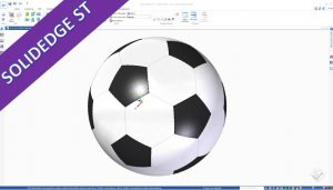Videotutorial Solidedge St 10 Surfaces Soccerball