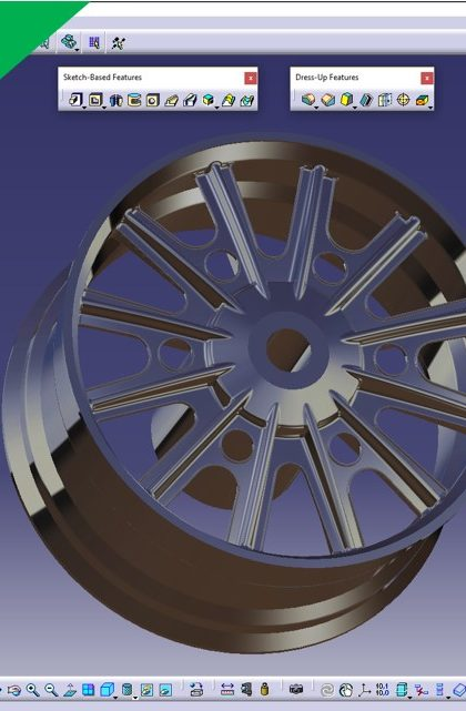 Videotutorial Solidworks 2017 Part Design Advanced Rim