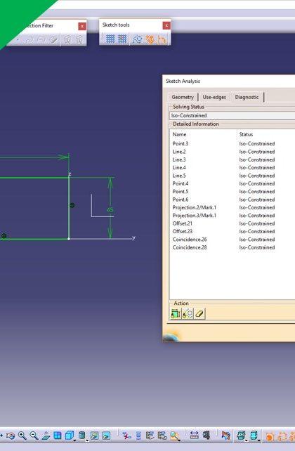 Videotutorial Siemens Nx 12 Basics Sketch Relations
